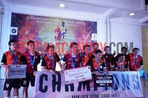 Tim Futsal Putra Berada di Podium BFL 2016. Dok. CANOPY/Robin