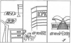 #saveKPK vs #saveMONEY