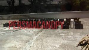 Jajaran Polybag dilantai 2-Gedung GS. Dok. CANOPY/Elfita