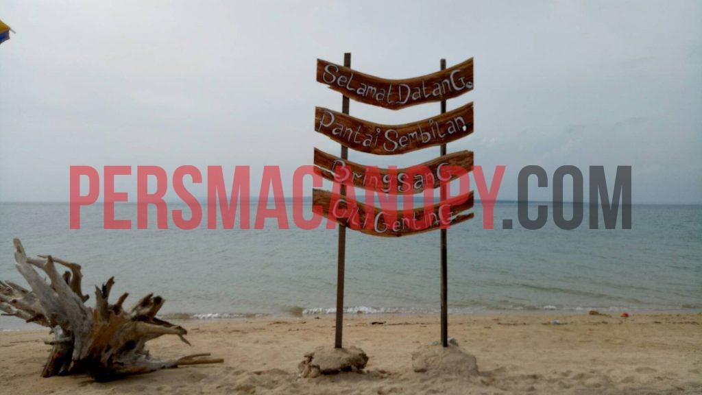Pantai Sembilan. Dok Canopy