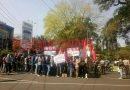 Tiga Kelompok Massa Aksi dalam peringatan Mayday Malang
